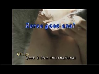 Zoo Delight hamster vintage  Horse Goes Anal Bestia(part 1)