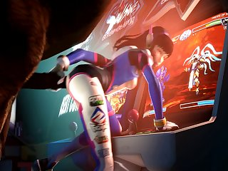 D.va Getting Fucked In The Arcade (blueberg)[horse]3D Bestiality