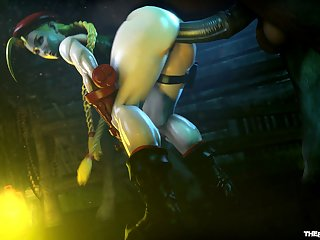 Cammy Working A Horsecock (the Firebrand)[horse]3D Bestiality