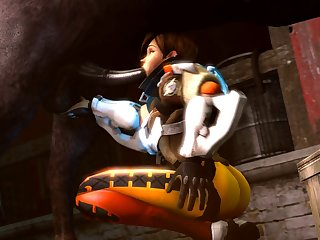 3d Animated Overwatch Source Filmmaker Tracer Noname55 (2)